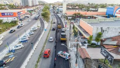 Photo of Obras da Av. Anchieta avançam com recapeamento e pavimentação