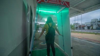 Photo of Hospital e UBS's ganham cabine de desinfecção