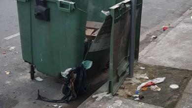 Photo of Lixeiras são vandalizadas no Centro de Bertioga