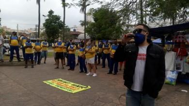 Photo of Greve: funcionários dos Correios protestam contra redução de benefícios em São Vicente